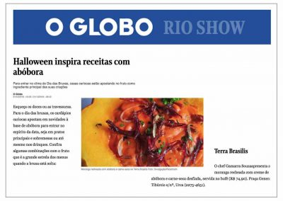 Clipping Terra Brasilis_31-10-2018_O Globo on line_Editoria Rio Show_Halloween